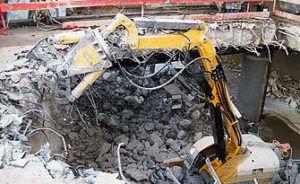 Industrial Concrete Demolition in Los Angeles