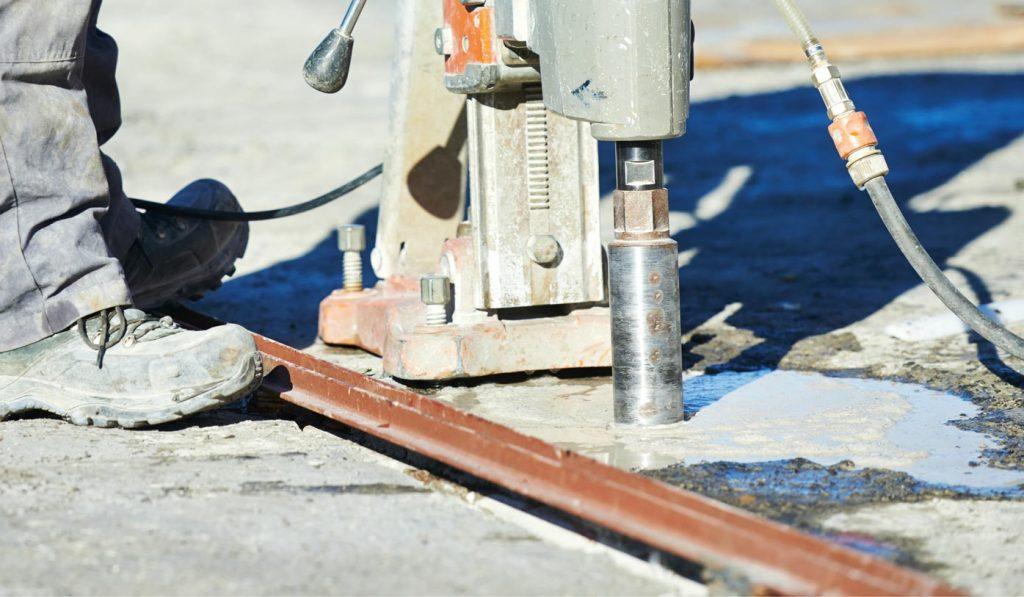 core drilling contractor
