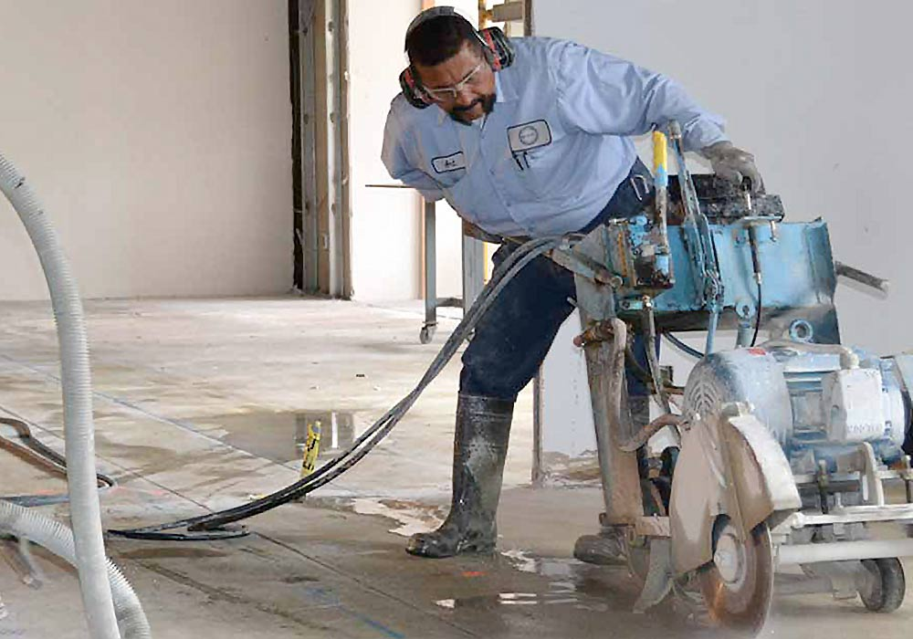 concrete cutting and breaking accu cut