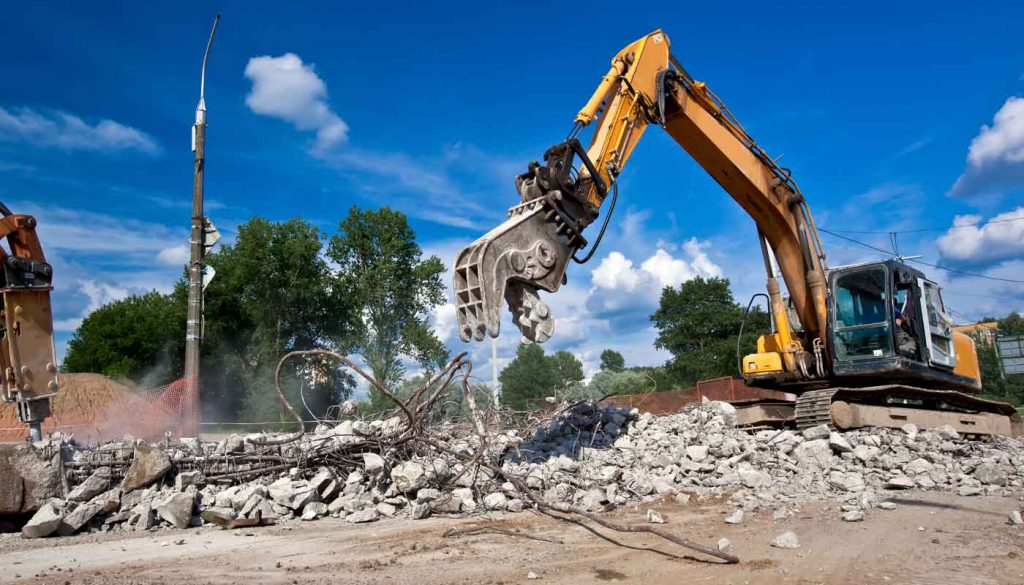 concrete demolition in los angeles